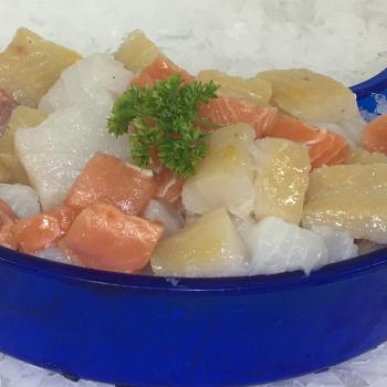 Luxury fish pie mix